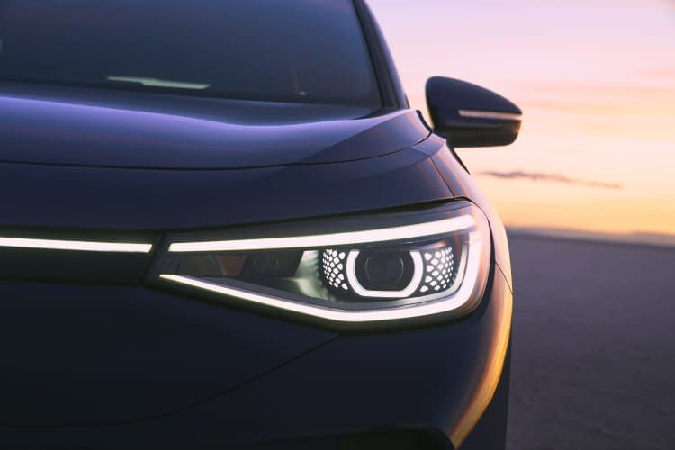 vw id 4 electric crossover
