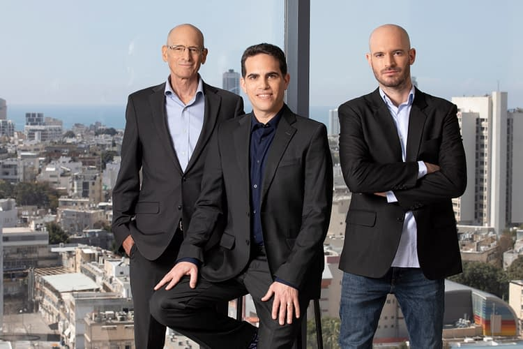 A group photo of Planck co-founders (from left to right): David Schapiro, CEO Elad Tsur and CTO Amir Cohen