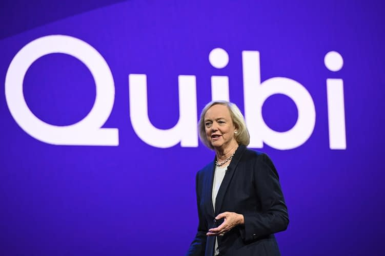 Quibi CEO Meg Whitman speaks about the short-form video streaming service for mobile Quibi