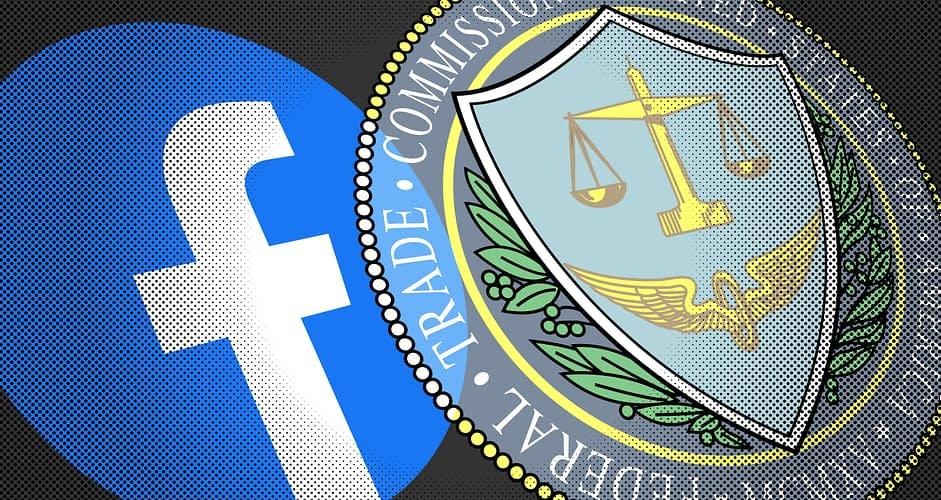 Facebook logo and FTC seal